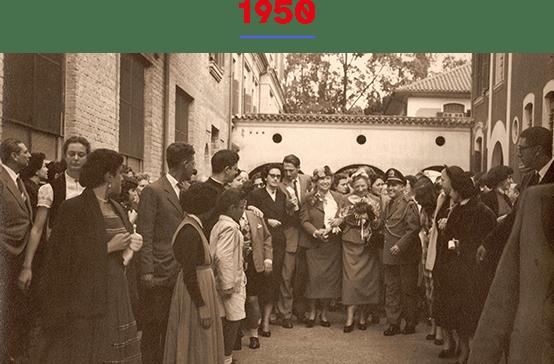 O IPC organizava uma oficina de confecção de vassouras. O curso ginasial dava seus primeiros passos. Recebemos Helen Keller, palestrante americana cega-surda mundialmente conhecida.