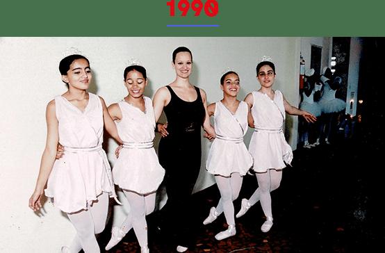 A partir do excelente trabalho desenvolvido pela bailarina Fernanda Bianchini, nossas alunas tornaram-se competentes bailarinas cegas, reconhecidas em boa parte do mundo.